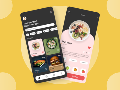 Food Delivery App delivery food flat typography uiux uidesign mobile icon app ux ui design