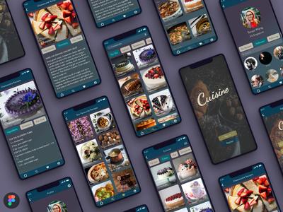 Food App Recipe android app iphonex ios web ui ux recipe food figma design argentina app