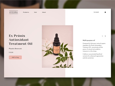 HYEDRA Website web design website photography typography shop organic ecommerce shop health beauty logo branding web figma design argentina