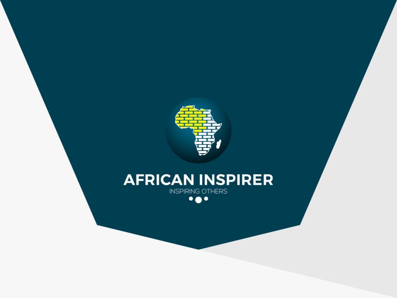 African Inspirer brand logo design logo minimal illustration identity branding