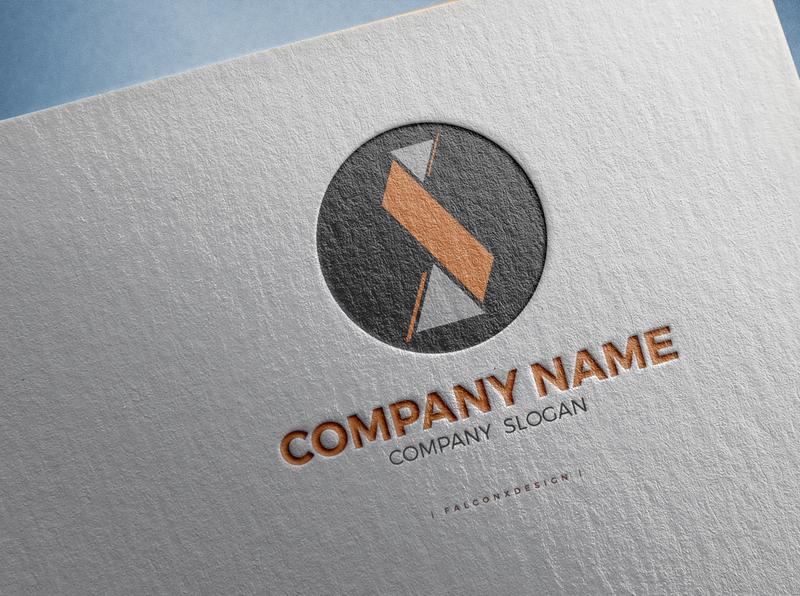 Logo ideal for corperate company design illustration logo identity branding