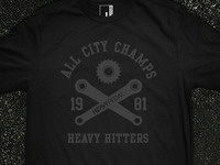 Heavy Hitters Shirt Design - The Heavy Pedal