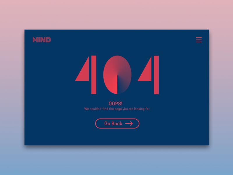 UI Challenge 8: 404 Page 404 page figma dailyuichallenge dailyui