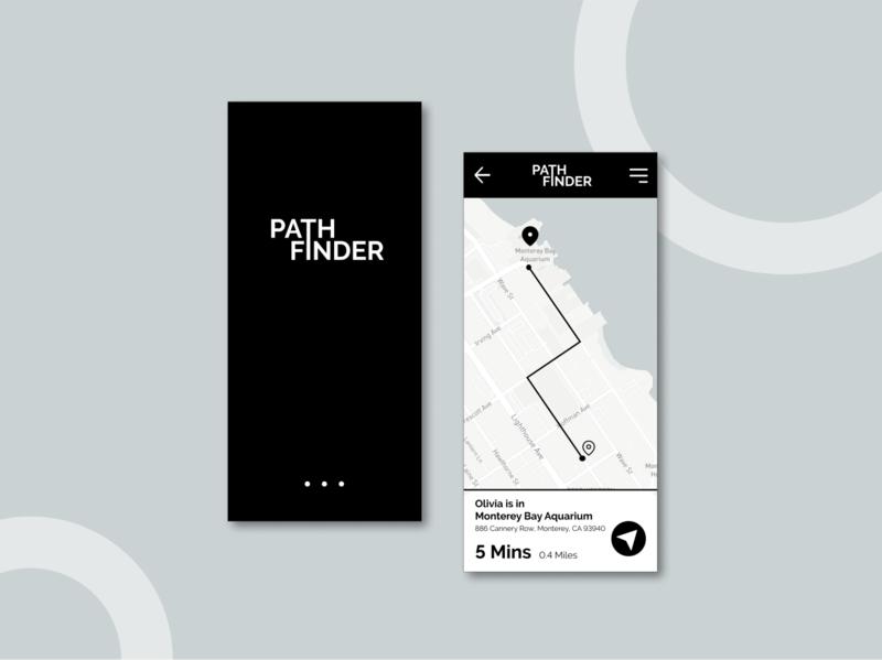 UI Challenge 20: Location Tracker location tracker figma dailyuichallenge dailyui