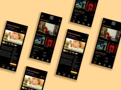 UI Challenge 25: TV App tv app figma dailyuichallenge dailyui