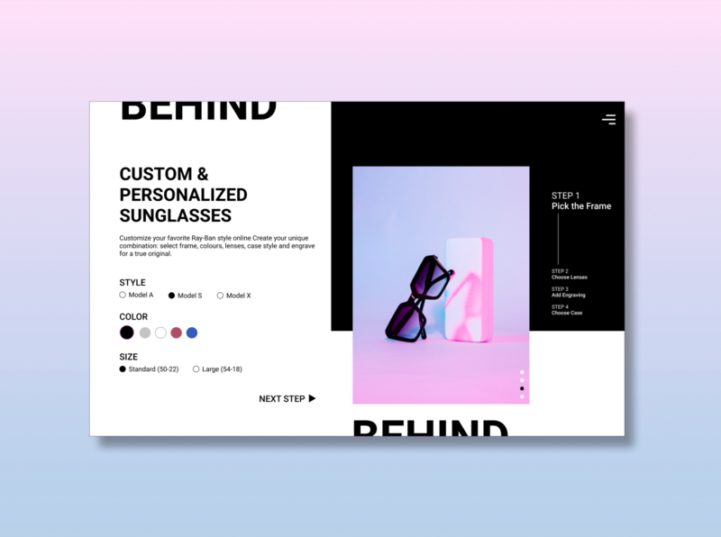 UI Challenge 33: Customize Product customize product figma dailyuichallenge dailyui