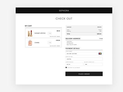 Minimalist checkout page design hireme designinspiration uxdesign userinterfacedesign userexperiencedesign uidesigner ui uidesign minimal design