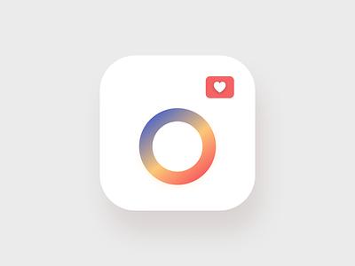 Instagram Icon Redesign // Dailyui005 instagram app appiconredesign appicon instagramicon instagram userinterfacedesign vector logo hireme designinspiration design userexperiencedesign uidesigner uidesign minimal