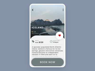 Info Card | Travel App dailyuichallenge creative hireme design ui designinspiration minimal uidesigner userinterfacedesign uidesign
