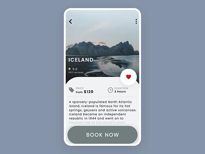 Info Card | Travel App dailyuichallenge creative hireme design ui designinspiration minimal uidesigner userinterfacedesign uidesign