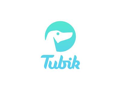 New Tubik Logo ios ux ui web photoshop illustrator lettering logotype typography branding logo