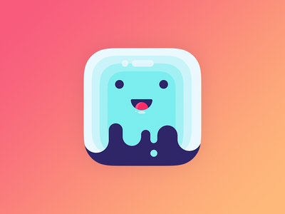 Saily ghost icon version photoshop illustrator ghost logo branding ios icon app