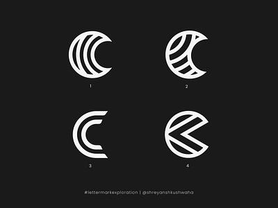 C Monogram   Letter Mark Exploration - 3/26 branding lettermark logo lettermarkexploration richwithdesigns monogram letter mark monogram logo monogram logo logomark logo mark logo design