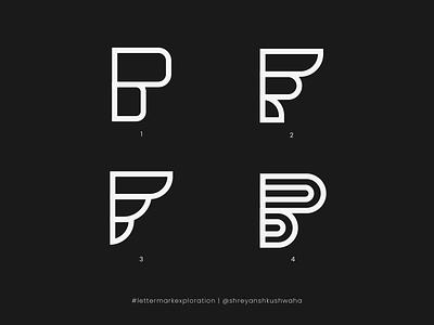 F Monogram   Letter Mark Exploration - 6/26 logo designer letter logodesign logomark richwithdesigns logo lettermark monogram letter mark monogram logo logo design