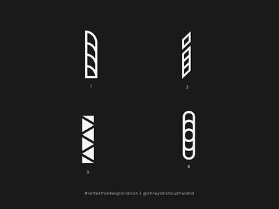 I Monogram   Letter Mark Exploration - 9/26   I Logo Design vector design logotype logo logo mark monogram logo lettermarkexploration richwithdesigns brand identity design logo design logomark