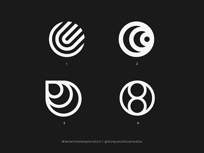 O Monogram   Letter Mark Exploration - 15/26   O Logo Design shreyansh kushwaha vector logo logo design brand identity monogram letter mark lettermarkexploration monogram logo logomark brand identity design richwithdesigns