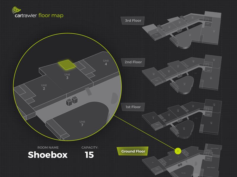 Floor map guide floor map