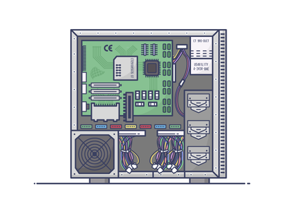 Inside the box it motherboard hardware