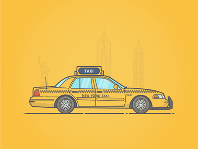 NYC Taxi yellow cab taxi nyc