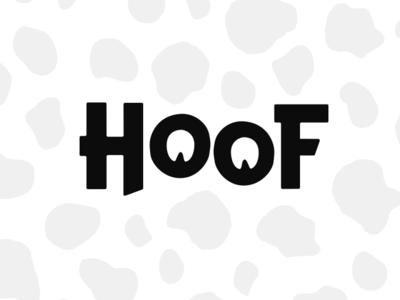 Hoof logomark branding logomark logo hoof cow
