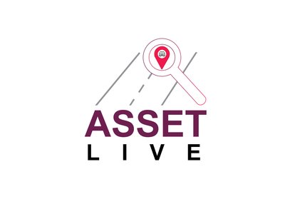 asset live logo minimal typography vector design illustration logo