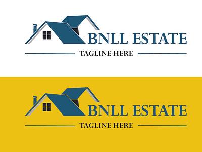 logo reals tat realstate graphic design illustrator icon flat typography minimal logo design