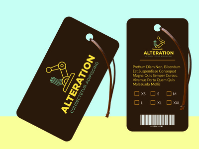 alteration hang tag neck lebel care labe necklabel cerelabel hangtag vector illustrator illustration icon graphic design design