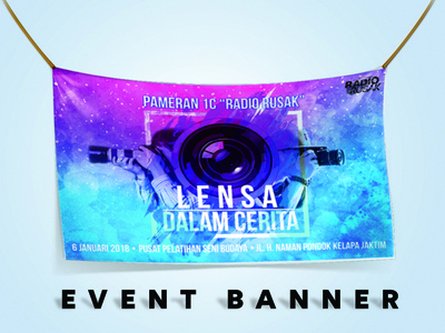 Event Banner graphics banner design design