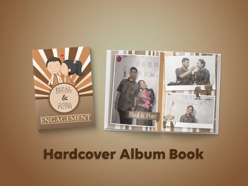 Hardcover Album Book book design album cover design book graphic design
