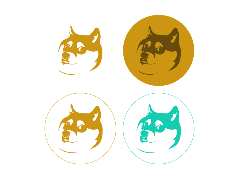 Wow. Such Doge. Very Icons. icons doge wip design logo
