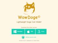 WowDoge website