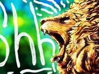 Quiet lion
