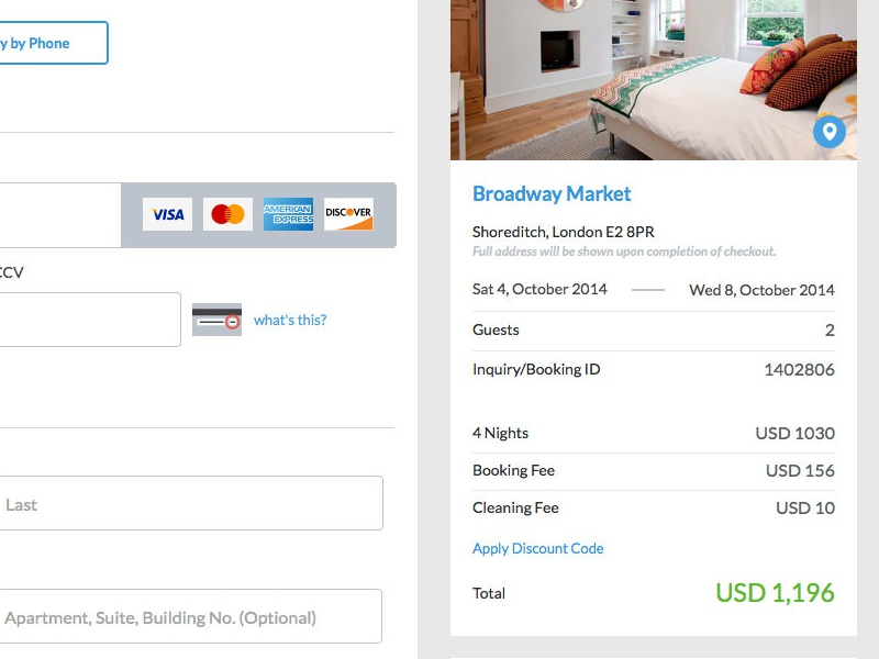 Checkout Summary website design checkout payment