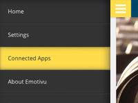 Emotivu CSS Menu