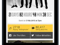 Gig App - Countdown