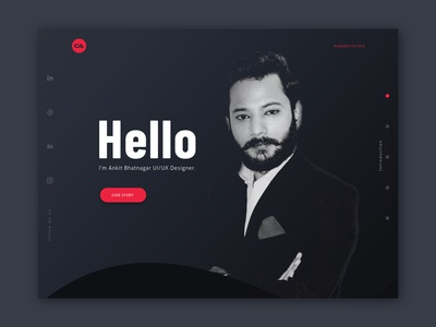 Portfolio Website #1View