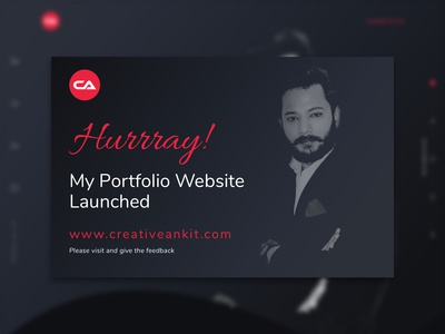 #creativeankit.com Launched
