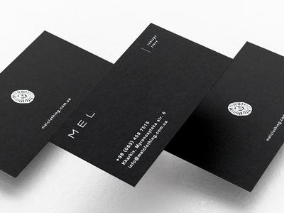 Mel. Business card