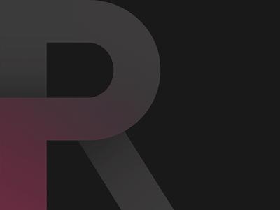 Royals gradient modern clean minimalism tourism leisure travel typography typo magenta logo royals