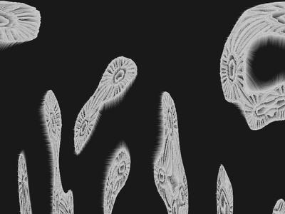Pattern for MEL  identity glitch pattern