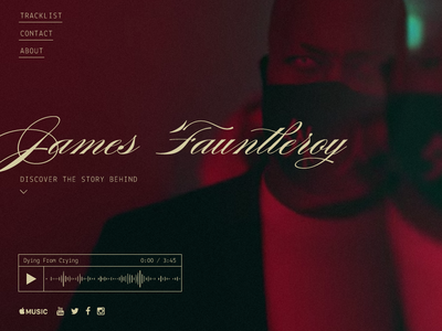 JFii grammy fauntleroy james ui composer music landing web jfii