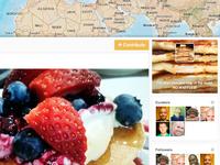 Crowdmap V3.1 — Map Header & Sidebar
