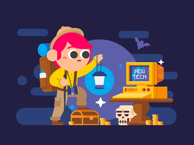 Explore new tech lost treasure adventure treasure dungeon explore