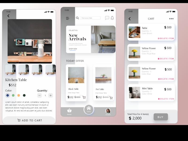 Simple E-commerce shop UI UX mobile design app ui design apple ui android ui ecommerce shop ux uiux ui simple ui design mobile ui app ui ux app ui app design app