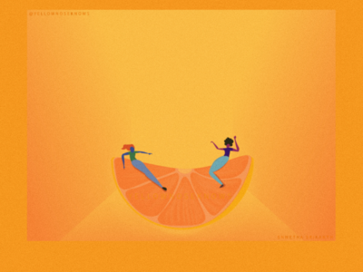 Fresh - Balance design graphic digital vector citrus illustrator adobe lemon