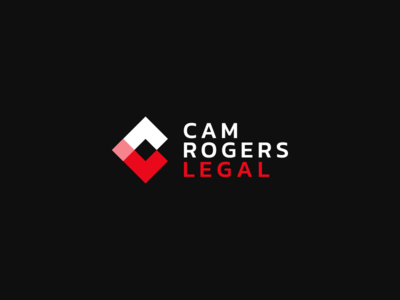 Cam Rogers Legal kreatank letter mark crl crl tech digital pixels square geometric abstract gaming game developing lawyer law legal branding brand identity logo design