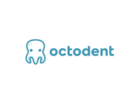 octodent 2.0 kreatank clever smart creative character mascot children kids playful simple cute medical dentist dental tooth octo octopus