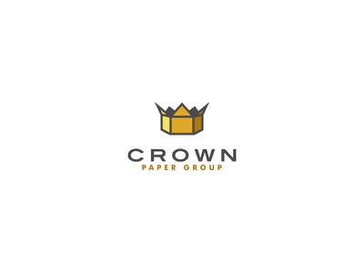 Crown Paper Group bodea daniel creatank kreatank king indetity logo box cardboard crown paper