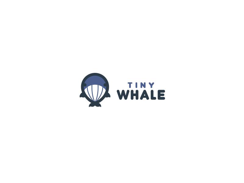 Tiny Whale bodea daniel creatank kreatank identity logo small cute tiny whale
