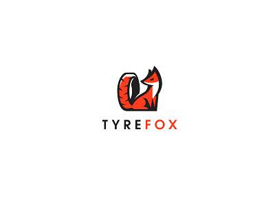 TyreFox bodea daniel creatank kreatank auto car logo designer logo fox tire
